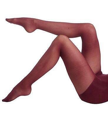 Dkny Two Pack Opaque Control Top Tights Black And Brown Women Sz Small 2916