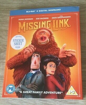 MISSING LINK WITH DIGITAL DOWNLOAD [Blu-ray] NEW RELEASE KIDS FAMILY NEW