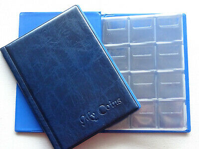 Blue 'My Coins' Album for 96 coins (perfect for medium coin 50p Olympic ,£2,£1 )