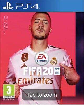 PS4 Game FIFA 20 (PS4)  *PRE-ORDER - RELEASED 27/09/2019*  BRAND NEW AND SEALED