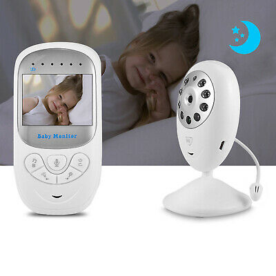 Wireless Surveillance Baby Monitor Camera Two-Way Voice Video Night Vision ST