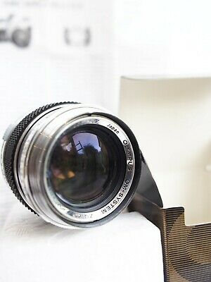 Olympus Zuiko 50mm f1.4 OM Labor Latest Version Boxed