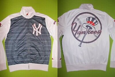 Jacket NEW YORK YANKEES (L) COOPERSTOWN MAJESTIC PERFECT !!! MLB