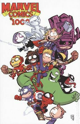 Marvel Comics #1000 2019 Young Variant NM Stock Image