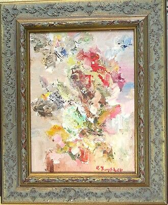 Armenian Art Gallery-Abstract Vase/Flower,Oil Painting by ARDAVAZT PAPIKYAN,2018