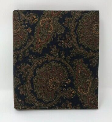 Address Book  Vintage Has Cloth Cover With ABC Dividers