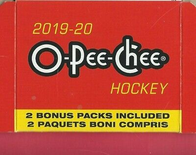 2019-20 OPC Hockey Base Marquee Set Team Rookie Pick RC Player Choice O Pee Chee