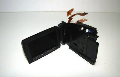 Canon Vixia Hv30 Hv40 Lcd Display With Lateral Body Panel & Flex Part