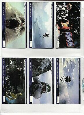 Star Wars ESB Widevision Complete Set 1-144+ 6 Foil Chase Cards +3 Promo/3 Minis