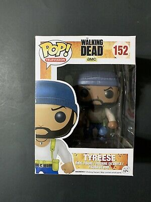 Funko Pop Television The Walking Dead — Tyrese 152 — Free Shipping