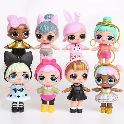 Surprise Doll Baby Tear Series Ornament for Kids Toy Gift 8 Pcs Figures Set NEW