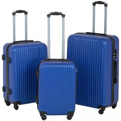 Refurbished Suitcase 3 Piece Luggage Sets Travel  on Carry  Durable Expandable