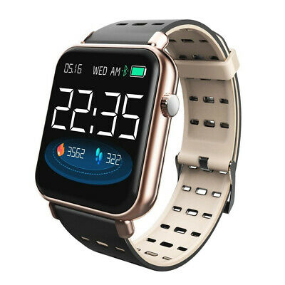 IP67 Waterproof Bluetooth Smart Watch Heart Rate Monitor For iOS Android Y6 Pro
