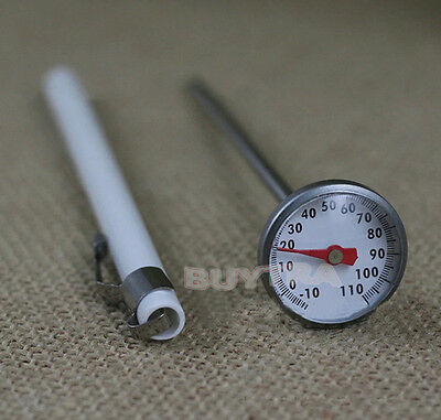RAS Stainless Steel Instant Read Probe Thermometer Food Cooking Meat Gaug EE