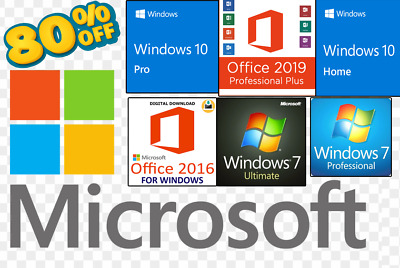 Office 2010/2013/2016/2019 Professional Plus ✔ 32 & 64 All Products Microsoft