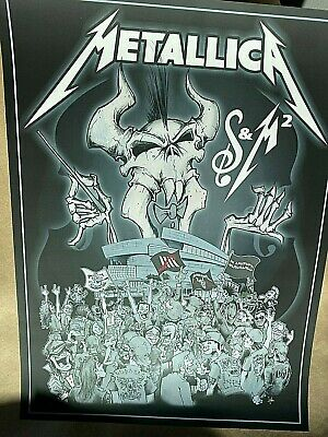 🔥 METALLICA San Francisco Symphony & Metallica S&M Poster Print Chase Squindo