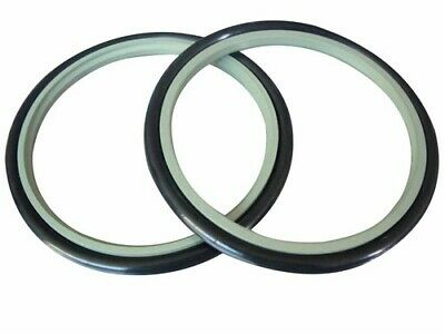 40x4 Hydraulic Rod / Buffer Seal - PTFE with Nitrile O-Ring Outer - 40mm x 4mm