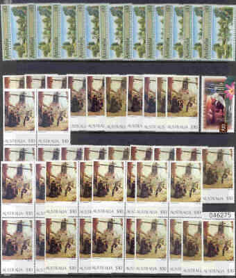 $10.00 Postage Stamps Mint with full gum x 50. Face Value $500.00.