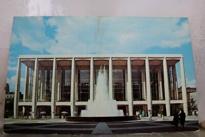 New York NY NYC Lincoln Center for Performing Arts Postcard Old Vintage Card PC