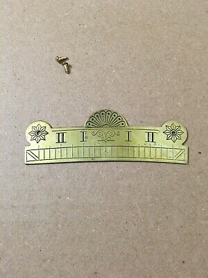 Vintage Brass Beat Scale For Wall Regulator Clock