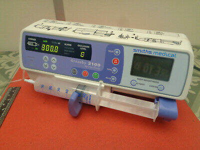 Smiths medical Graseby 2100 syringe infusion pump 240v S10TN6PX