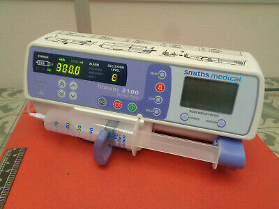 Smiths medical Graseby 2100 syringe infusion pump 240v S10WCC942