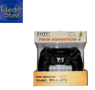 JOYSTICK JOYPAD wireless SENZA FILO COMPATIBILE con adattatore usb PS4 PER PLAY4