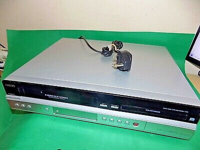 PHILIPS DVD Video Recorder VHS Combo DVDR3430V Silver Copy VHS to DVD FAULTY