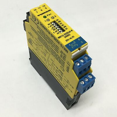 Turck MK13-222Ex0-R Dual-Channel Isolating Switching Amplifier 24VDC 2 NO Relays