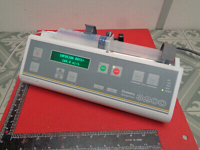 Graseby 3200 syringe infusion IV pump with pole clamp S11QA9266