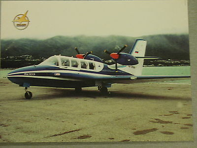Post card Aeroflot Air Liner Hydro Plane Craft Ways Be 30 pc Fly Flight Water