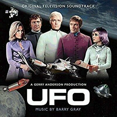 """Gerry Anderson's """"UFO"""" Barry Gray soundtrack compact disc IN STOCK NOW !!!"""