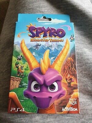 Spyro Reignited Trilogy Promo Keyring Art Cards Dynamic Themes Brand New ps4