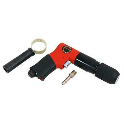 "CT1087 1/2"" Reversible Air Powered Drill With Keyless Chuck & Side Handle Grip"