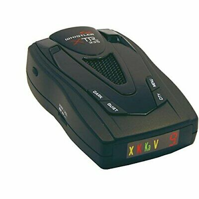 WHISTLER XTR-335 Radar/Laser Detector with Real Voice Alert