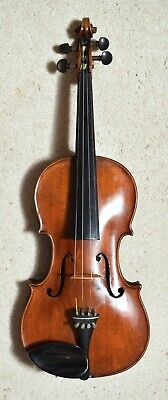 Good Looking Antique Violin With Well Figured Back