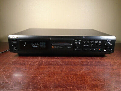 SONY MDS-JE510 MINIDISC DECK PLAYER RECORDER *cosmetic flaws but tested/working*