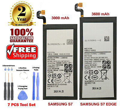 Replacement Battery For Samsung Galaxy S7, S7 Edge with Free Tool Kit