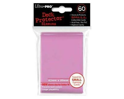 Ultrapro: 60 Mini Deck Protector - Rosa
