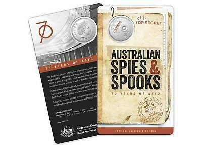2019 ASIO 50c CuNi Unc Coin - 70th anniversary --SOLD OUT--