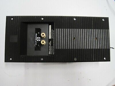 "Kef Model 100  Center 2-Way Crossover/ Input Plate ""B"""