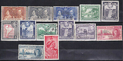 British Guiana - Colonies - Valuable George Vi Collection - Look!