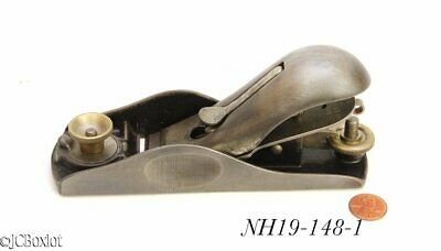 rare patented cap sargent FULTON TOOLS ADJ MOUTH block plane 4306 woodworking