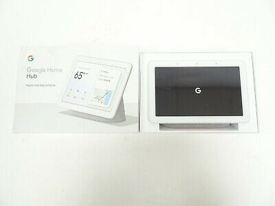Google Home Hub - Smart Home Controller with Google Assistant - 03/B34941A