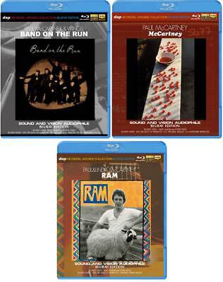 PAUL McCARTNEY & WINGS  Blu-ray 3 items set HD Digital Archive Collection! *F/S