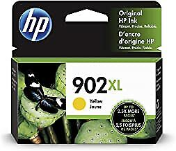 HP 902XL (T6M10AN) Yellow Ink Cartridge NEW FREE SHIPPING
