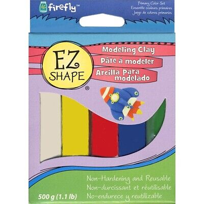 EZ Shape Modeling Clay Primary Color Set  - Primary Colors