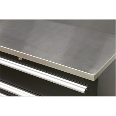 APMS08 Sealey Stainless Steel Worktop 775mm [Tool Storage]