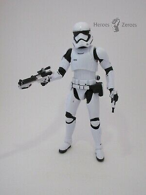 Star Wars The Black Series FIRST ORDER STORMTROOPER #04 Figure with Weapons