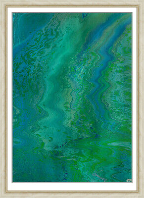 original painting А3 340BA  fluid art painting acrylic by samovar